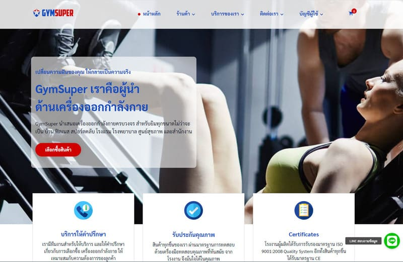 เว็บไซต์ ecommerce
