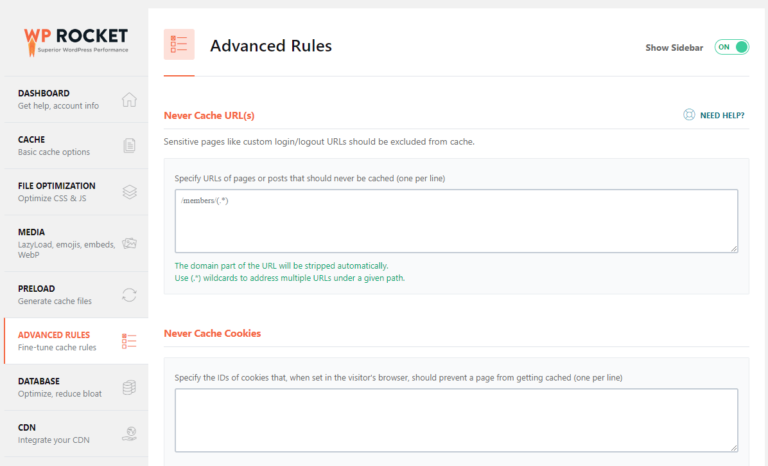 6 Advanced rules